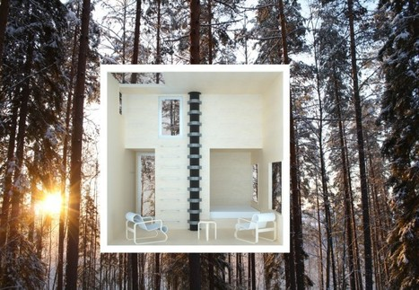 Tree Hotel in Harads: a reflection of the natural surroundings | The Architecture of the City | Scoop.it