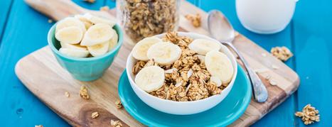 Banana Almond Granola Recipe   My Vegan recipes   Scoop.it