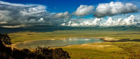 Tanzania's Ngorongoro Crater: The Coolest Safari Stop (PHOTO) - Huffington Post | Water,lakes and seas. | Scoop.it