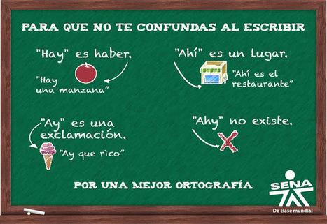 140 actividades de ortografia para estudiantes   Yo Profesor   Un mar de letras   Scoop.it