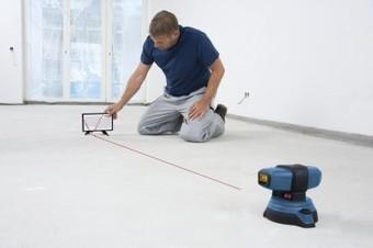 Innovation mondiale : Le laser de sol GSL 2 Professional Bosch | Laser de sol | Scoop.it
