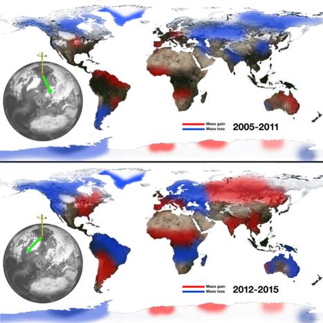 El deshielo de los polos desplaza el eje de rotación de la Tierra al Este | GEOGRAFIA SOCIAL | Scoop.it