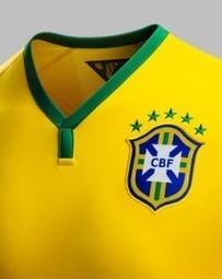 Le maillot Nike du Brésil pour la Coupe du Monde 2014 | Sweat and balls | Insolites | Scoop.it