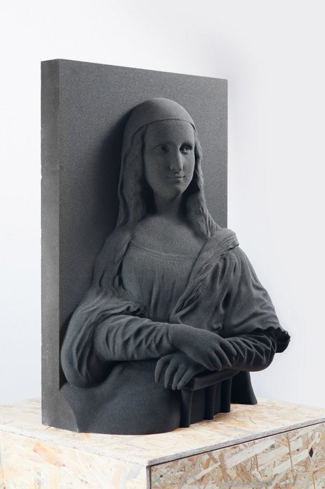 Unseen Art: 3D Printing Classical Paintings for the Blind   3D Printing in School (501c3)   Scoop.it