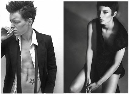 Doing Gender with the Face, Featuring Erika Linder » Sociological Images | Feminism | Scoop.it