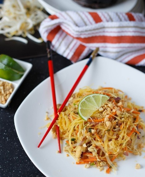 Spaghetti Squash Pad Thai | The Butter | Scoop.it