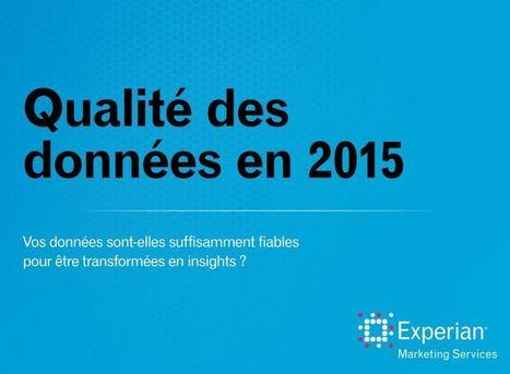 Livre Blanc - Data Quality Survey 2015 | Experian Marketing Services | Autour des données | Scoop.it