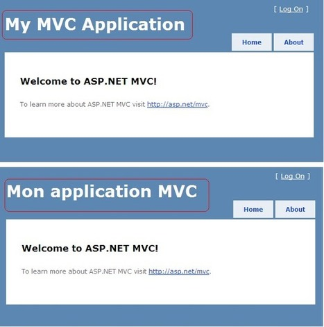 Internationalisation d'une application ASP.NET MVC 3 Razor | AspNet MVC | Scoop.it