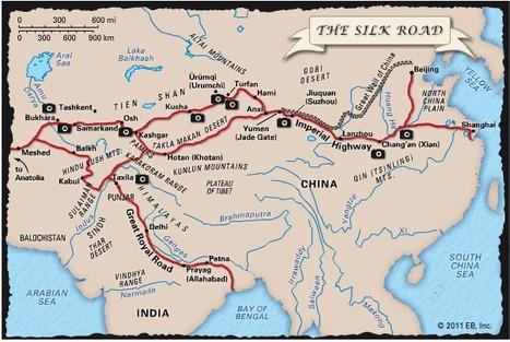 Encyclopedia Britannica Interactive: Silk Road | CCW Yr 8 Medieval Europe | Scoop.it