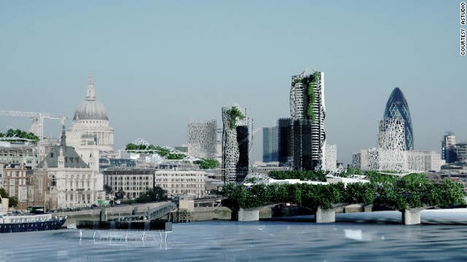 Future buildings could eat (and grow from) carbon emissions | SmartPlanet | Sustainable Futures | Scoop.it