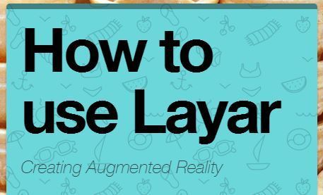 Creating interactive augmented reality work with Layar - Teaching and Learning nuts and bolts | Library Aid | Scoop.it