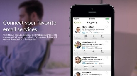 [Bon App'] Tipbit regroupe les e-mails, SMS et réseaux sociaux en une application unique et lève 4 millions de dollars | NUMÉRIQUE TIC TICE TUICE | Scoop.it