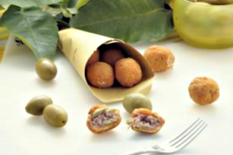 Stuffed Olives Ascolana Style Recipe - Olive all'Ascolana 2/2 | Le Marche and Food | Scoop.it