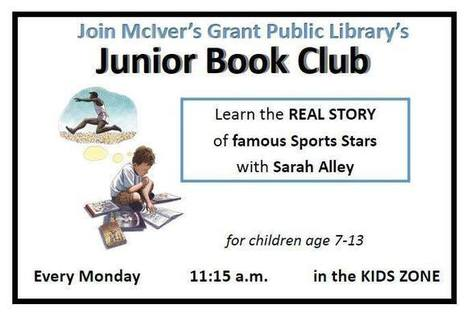 Junior Book Club | Tennessee Libraries | Scoop.it