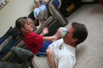 Kids playing rough may be a good thing | parenting | Scoop.it