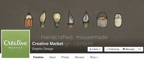 12 Amazing Facebook Cover Photos With Simple, Clean Design | Social Media | Scoop.it