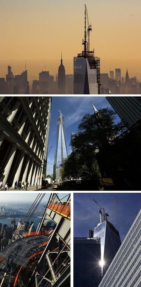 Colocan La Última Pieza Del Edificio Más Alto De EE.UU: One World Trade Center NY | Arquitectura Del Siglo XXI | Scoop.it