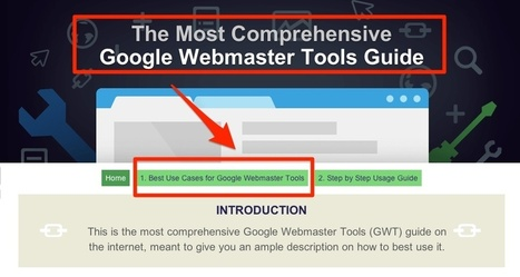 The Google Webmaster Tools (GWT) Guide by cognitiveSEO | Online Marketing | Scoop.it