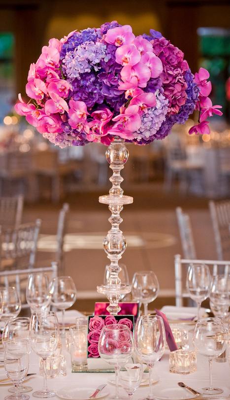 12 Stunning Wedding Centerpieces - Part 17 - Belle the Magazine ... | Wedding | Scoop.it