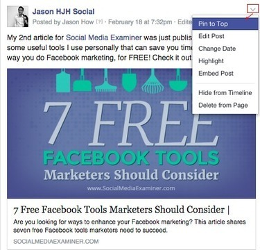 12 Secret Facebook Features EVERY Marketer Should Be Using | Post Planner | SocialMoMojo Web | Scoop.it
