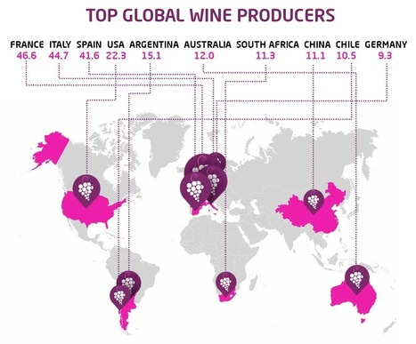 The world's biggest wine producers | Viticulture | Scoop.it