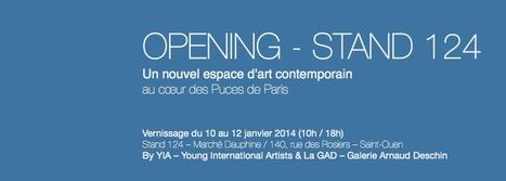 Inauguration de la Galerie GAD/YIA | Dealers Events:Les événements des marchands ,Marché Dauphine ,Paris | Scoop.it