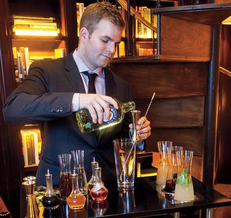 Mixology Trend: Tableside Cocktail Service - Gotham Magazine | bartending techniques | Scoop.it
