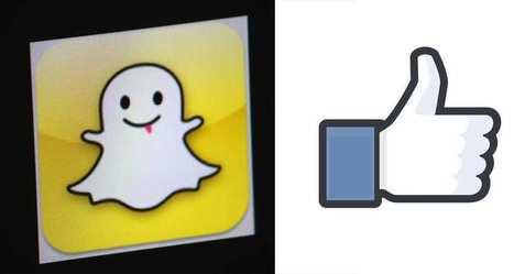 Snapchat dans les pas et à la poursuite de Facebook | Logiciels de gestion | Scoop.it