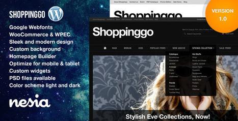 Shoppinggo - WordPress eCommerce Theme (eCommerce) Download | eCommerce Templates Download | Scoop.it