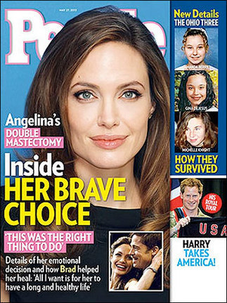 Angelina Jolie part of a clever corporate scheme to protect billions in BRCA gene patents #SCNADAL! | Healthyhomemakers | Scoop.it