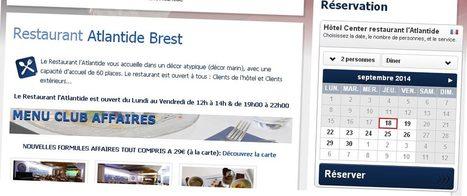 Reservation restaurant Atlantide à Brest | Séminaires à Brest | Scoop.it