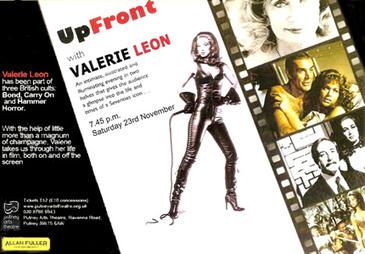 Valerie Leon Glamour Girl Autographs 70s Seventies | Interests | Scoop.it