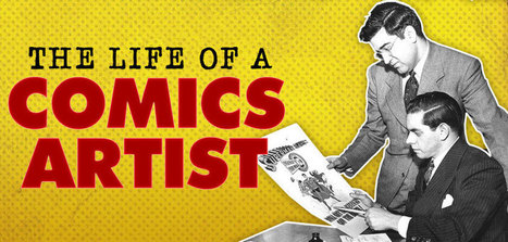 The Life Of A Comics Artist: Divided and Conquered - The Escapist | Creating Comics | Scoop.it