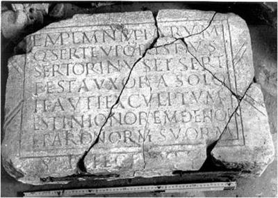 Dedicatoria de un templo a las Ninfas en Edeta, Hispania citerior Tarraconensis | Arqueología, Prehistoria y Antigua | Scoop.it