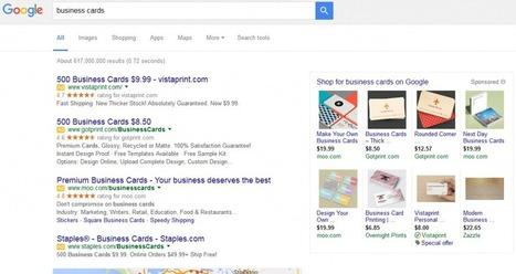 Google #AdWords passe à 4 pubs dans le top de la #serp et supprime la pub de la sidebar | Veille SEO - Référencement web - Sémantique | Scoop.it