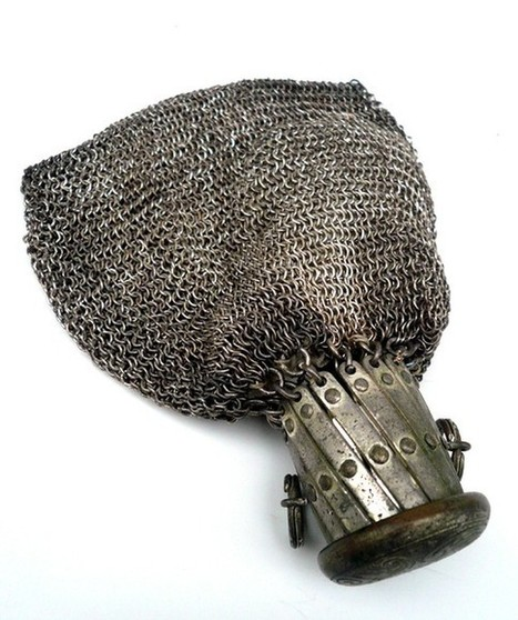 Silver Chatelaine Mesh Chain Antique Bag Made In Germany | Antiques & Vintage Collectibles | Scoop.it