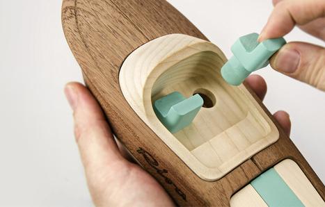 Jouets en bois d'exception par madeindreams pour le fabricant de bateaux Riva | inoow design lab | Scoop.it