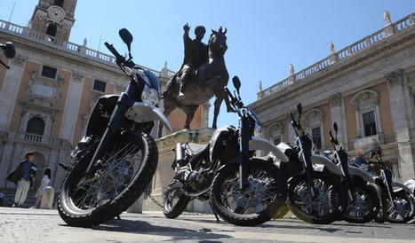 Yamaha supporta la Polizia di Roma con le XT660R - Moto News   Stuka78   Scoop.it
