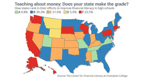 Only five states require high school students to take a class about money | KerberRose Wealth Management, LLC | Scoop.it