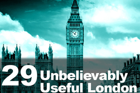 29 Unbelievably Useful London Apps? | London Life | Scoop.it