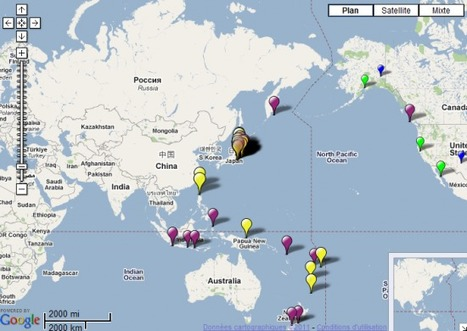Surveillez les tremblements de terre depuis iGoogle   toute l'info sur Google   Scoop.it