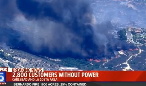 San Diego County declares emergency as Carlsbad fire burns 30 homes | Sustain Our Earth | Scoop.it
