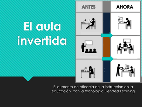 Aula Invertida - Flipped Classroom - GoConqr | Estudiar online | Scoop.it