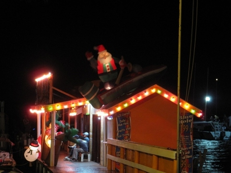 The Annual San Pedro Lighted Boat Parade | Belize in Social Media | Scoop.it