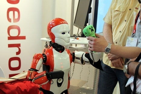 Innorobo : Leena, le nouvel étendard des robots humanoïdes français ? | Une nouvelle civilisation de Robots | Scoop.it