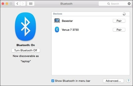 Transfer Files From #Android To #Mac With Bluetooth File Exchange | Time to Learn | Scoop.it