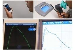 Détecter les maladies respiratoires, simplement avec un iPhone | Actus Bien-être - Santé | Scoop.it