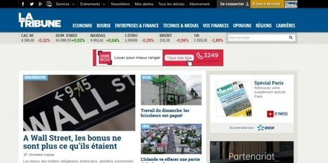 La Tribune va lancer 10 sites d'informations locales | Les médias face à leur destin | Scoop.it
