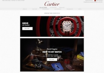 Cartier Drives Attention For Watch Debut Via Interactive Content I Luxury Daily | DIGITAL ANALYTICS | Scoop.it