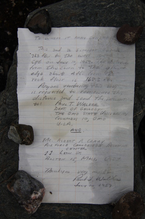 Message in a bottle found 54 years later in Arctic | All about water, the oceans, environmental issues | Scoop.it